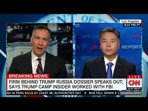 REP. LIEU SPEAKS WITH JIM SCIUTTO ON FUSION GPS