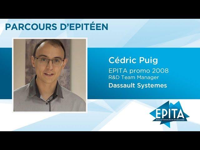 Parcours d'Epitéen - Cédric Puig (EPITA promo 2008) - Dassault Systemes