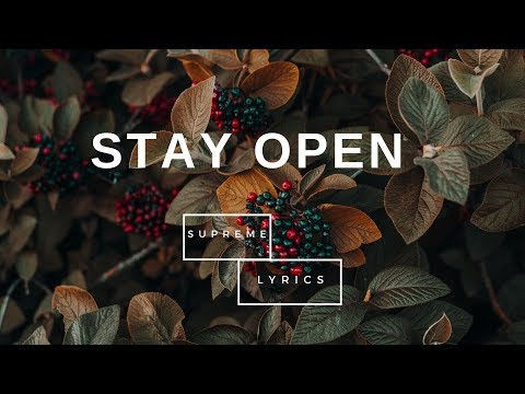 Diplo & MØ feat. Bipul Chettri & Laure - Stay Open (Lyrics)