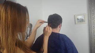 ASMR Scalp Care / Treatment *Massage, Trimming, Brushing, Washing, Cutting*