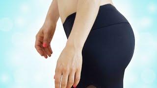 Knack Po & Beine Routine im Gym + GEHEIMER Po Übung | Rückenschonend | Veronica Gerritzen
