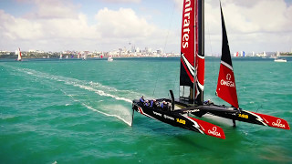 We travelled to new zealand and the home of emirates team with omega watches learn how is preparing after disappointment 2013....