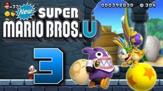 Let's Play New Super Mario Bros U Part 3: Criminal Mopsi
