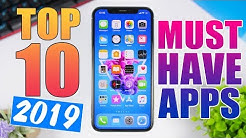 Top 10 MUST HAVE iPhone Apps - 2019