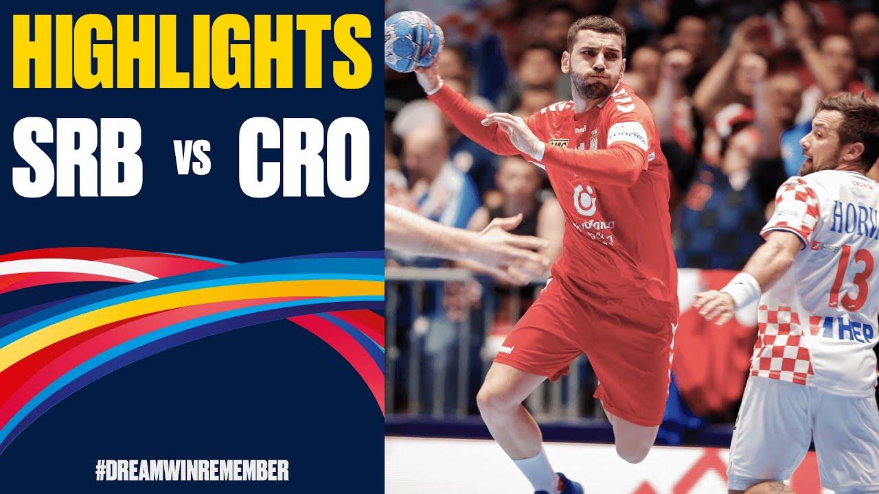 Serbia Vs Croatia Highlights Day 5 Men S Ehf Euro 2020