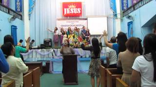 Praise And Worship - Sis. Veronica Bassig - DFC Graduation Recital 2014
