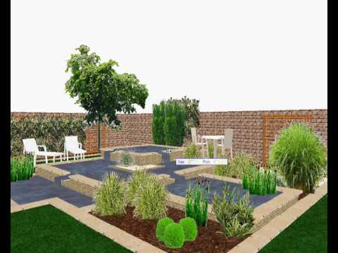 Etude de l 39 am nagement d 39 un jardin d 39 eau youtube for Amenagement jardin 200m2