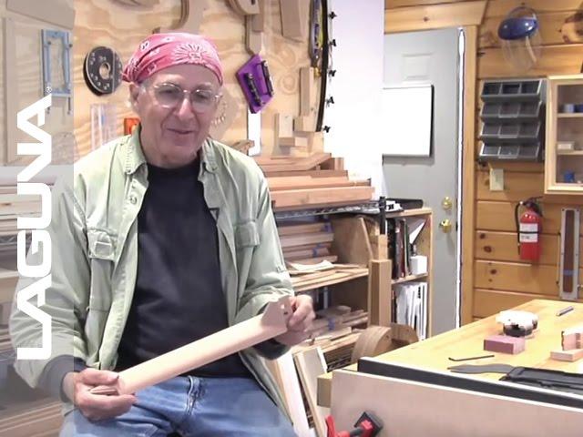 Chuck Marfione Guitar Neck Demo - CNC - Laguna Tools