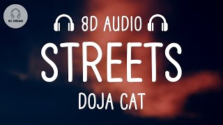 "Download Doja Cat - Streets (8D AUDIO) ""it's hard to keep my cool"""