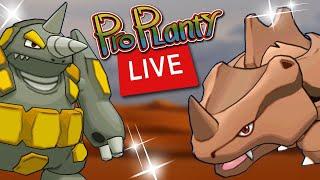 SHINY RHYHORN COMMUNITY DAY POKEMON GO HUNT (LIVE)