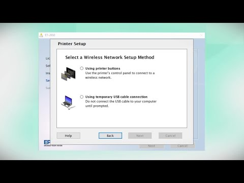 epson-ecotank-et-2650-|-wireless-setup-using-the-printer's-buttons