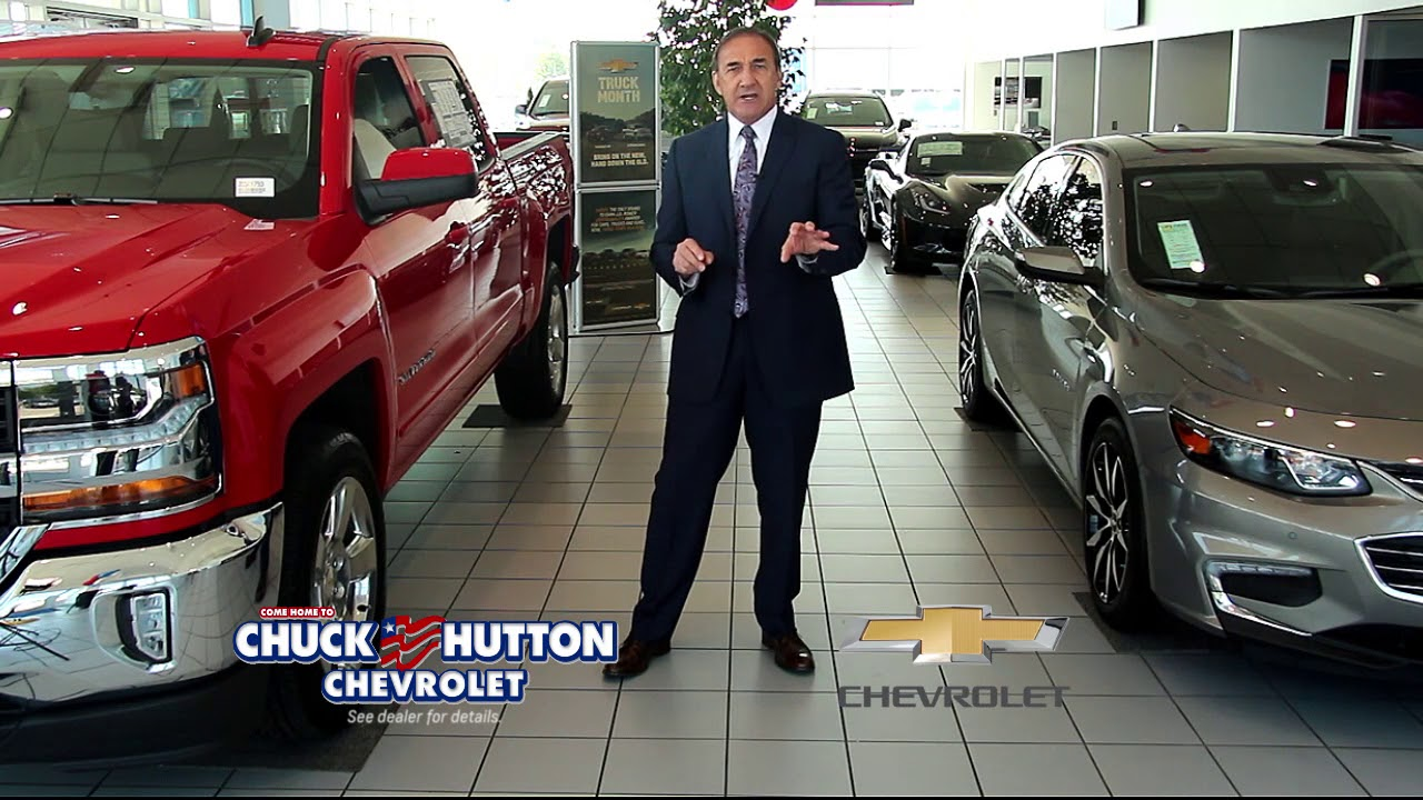 You'll Be Treated The Best By The Best At Chuck Hutton | chuck hutton chevrolet