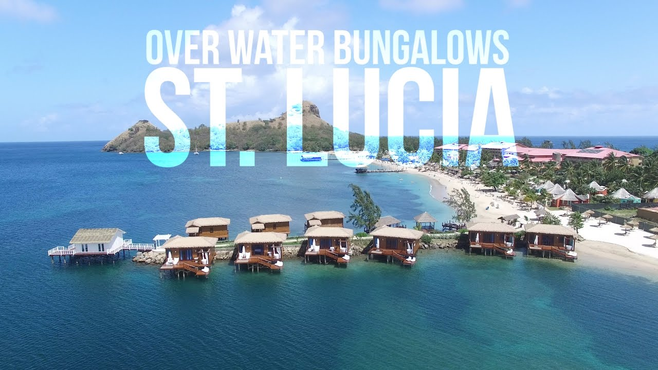 Sandals St Lucia Overwater Bungalow Tour New May 2017