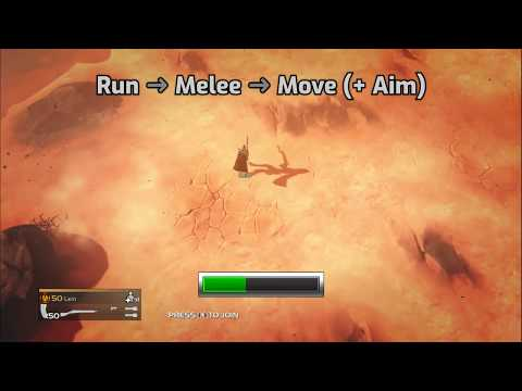 HELLDIVERS™ - How to Melee Dodge