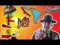 Comparación Audio Latino vs Castellano   La chaqueta metálica
