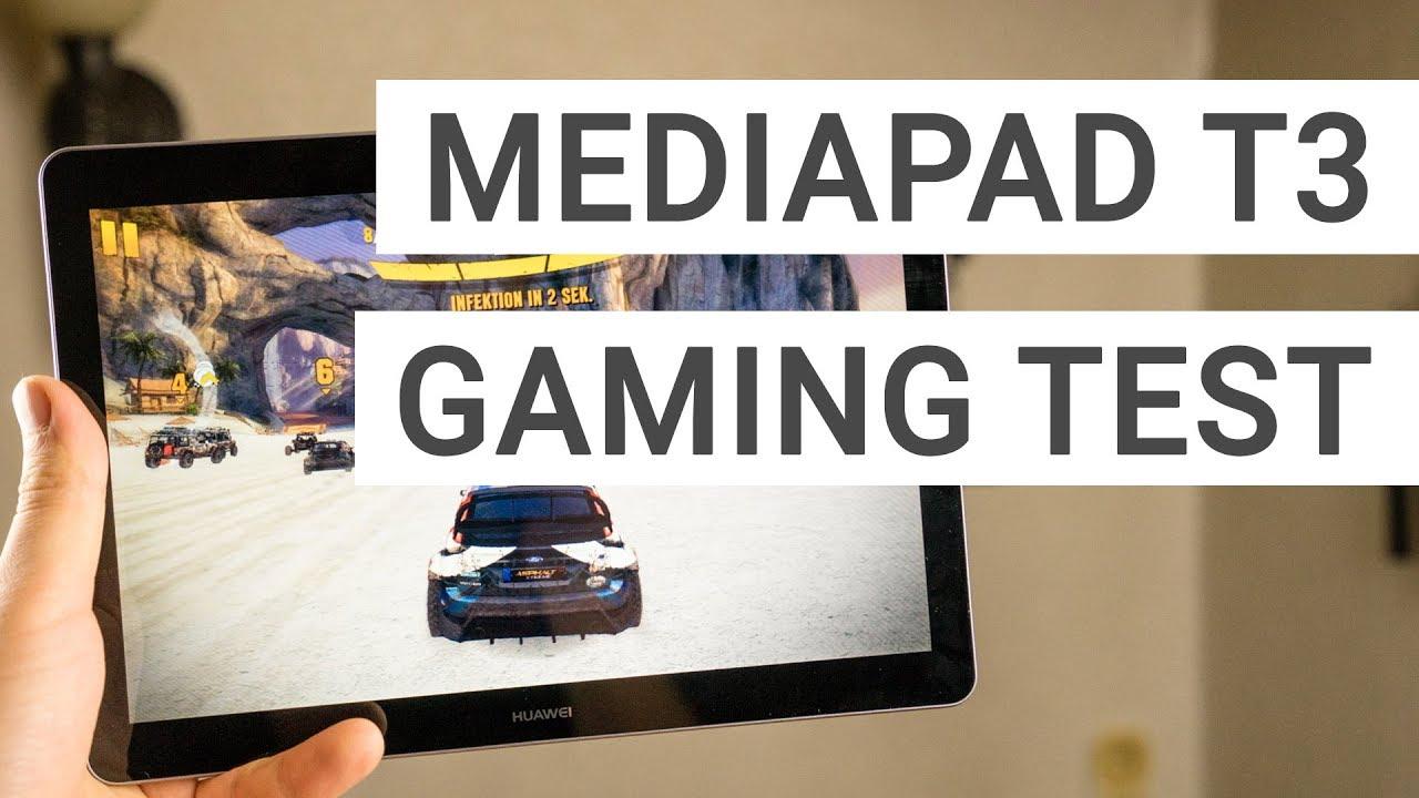 Huawei Mediapad T3 10 Gaming Benchmark Review Youtube