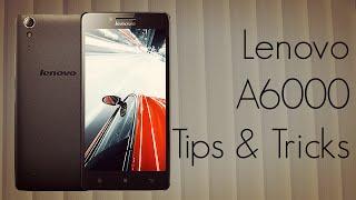 Lenovo A6000 Tips & Tricks - Useful Options