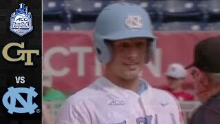 Georgia Tech vs. North Carolina ACC Baseball Championship Highlights (2018)