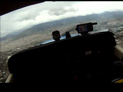 Touch @ go Cessna 172 in Tatoi airport Greece (LGTT)
