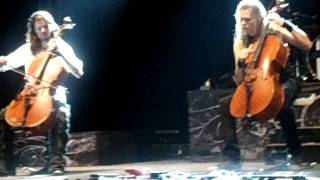 Apocalyptica en Colombia - Nothing Else Matters (Bogotá 2012)