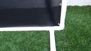 DIY GOLF NET - Homemade Indoor Outdoor Golf Net