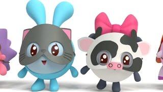 Малышарики - Мяу? Гав! (65 серия) Обучающие мультики. Как говорят животные