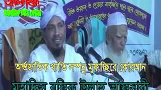 পাপ সমুহ  Bangla Waz Mawlana Rafiq Ullah Afsari, সুবর্নচর, নোয়াখালী
