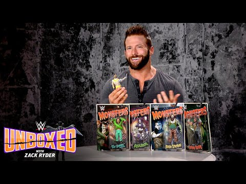 WWE Monsters are here: WWE Unboxed with Zack Ryder
