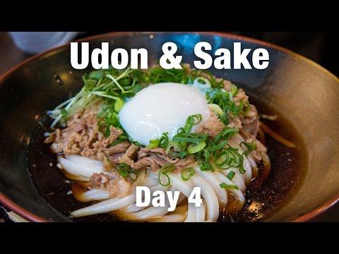 Udon Noodles & Unexpected Sake