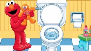 Potty Time Storybook Song & Puzzles Baby Games | Potty Time with Elmo ► TiKiFun