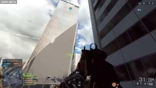 ★Battlefield 4 Beta - Skyscraper Falling Down★