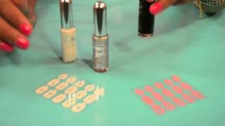 Beauty Tips - Kiss Nail Artist Paint & Stencil Kit - Nail Design