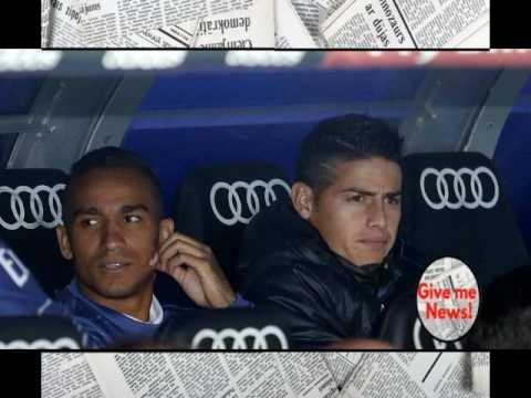 El equipo que fue a espiar a James al Bernabéu!