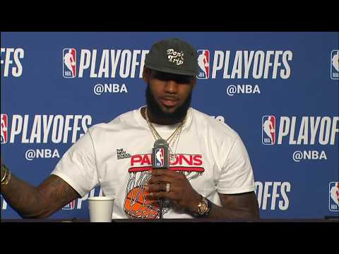 LeBron James & Kevin Love  Postgame Interview | Raptors vs Cavaliers Game 4