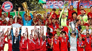 Winning titles is one of the best things to achieve in football. fc bayern munich did so 4 times 2020. enjoy this compilation all these cup lifts!► #mi...