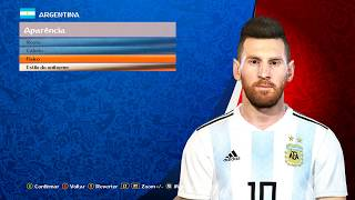 PES 2018 - NEW FACE LIONEL MESSI - By: Pradeep - PC
