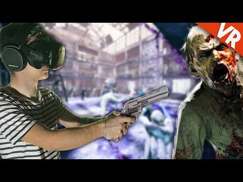 Trex se lupta cu zombie in Realitatea Virtuala! | ZomDay [HTC Vive]
