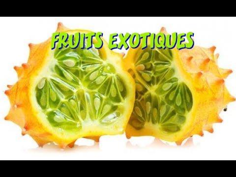 Liste des fruits exotiques et tropicaux youtube - Liste fruits exotiques avec photos ...