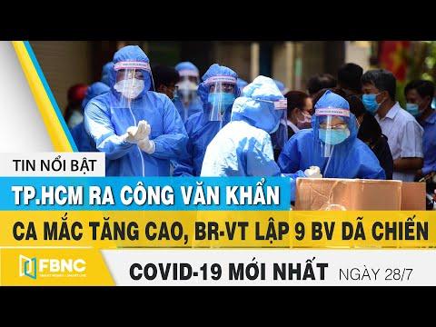 Tin tức Covid-19 mới nhất hôm nay 28/7 | Dich Virus Corona Việt Nam hôm nay | FBNC