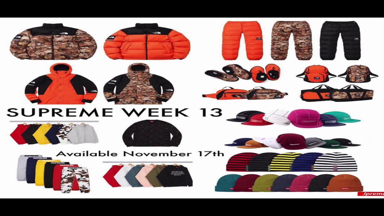 755eeb640 Supreme Talk: Supreme FW 16 Week 13 Drop List! The North Face Collab!