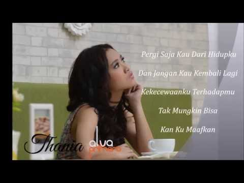THANIA - PERGI SAJA (Official Video Lyrics)
