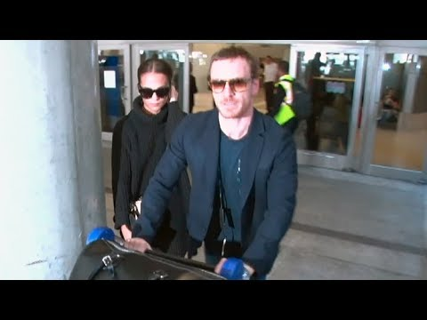 Michael Fassbender And Alicia Vikander Arrive In L.A. Amid Wedding Rumors