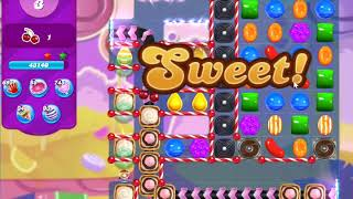 Candy Crush Saga Level 4349 IMPOSSIBLE (because of the keys spawn rate)