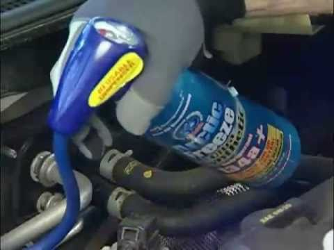 How To Recharge Your Car Ac With Arctic Freeze Youtube