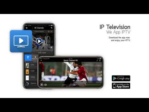 IP Television, brings IPTV on your mobile or tablet device