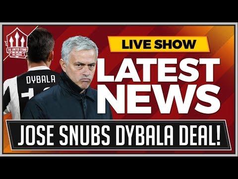 MOURINHO Confirms DYBALA & BALE Not Transfer Targets! MAN UTD Transfer News
