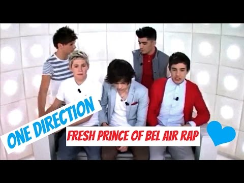 One Direction  Fresh Prince of Bel Air Rap
