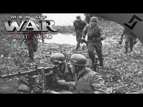 5v5 Fallschirmjäger Operations - Robz Mod - Men of War: Assault Squad 2 Multiplayer Gameplay