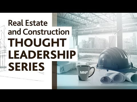 Taxes Mitigation & Opportunity | Real Estate and Construction Thought Leadership Series | 2017