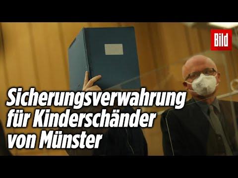 Kinderschänder von Münster: 14 Jahre Haft für Hauptangeklagten
